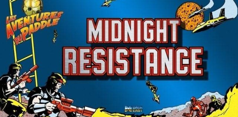 Les Aventures du Paddle : Midnight Resistance (Arcade)