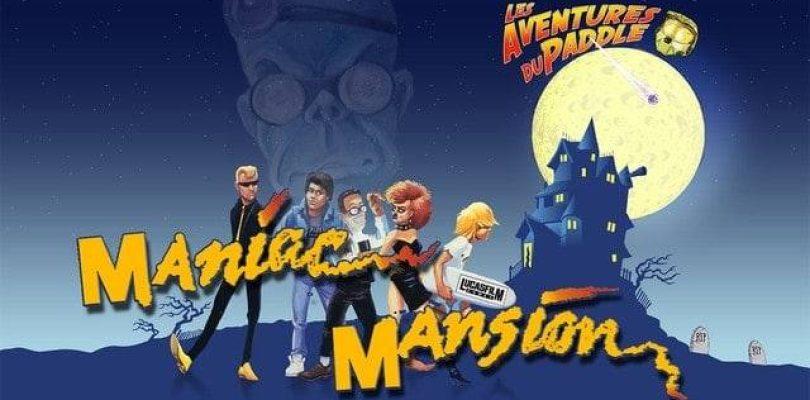 Les Aventures du Paddle : Maniac Mansion (Amiga)