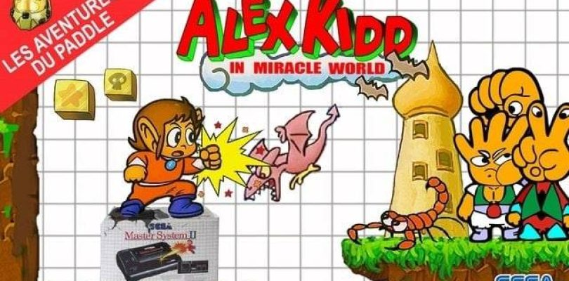 Les Aventures du Paddle : Alex Kidd in Miracle World (SMS)