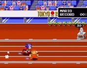 Mario et Sonic aux jeux olympiques en mode 8 bits/16 bits !!!