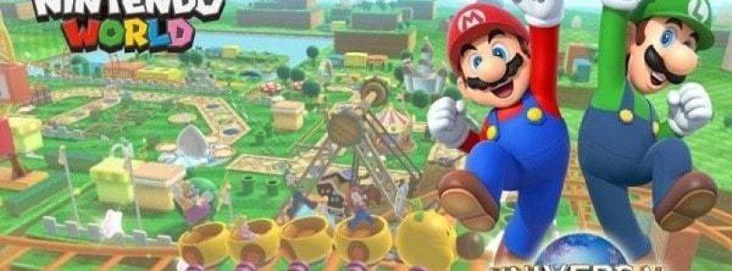 Une idée du parc d'attraction Nintendo