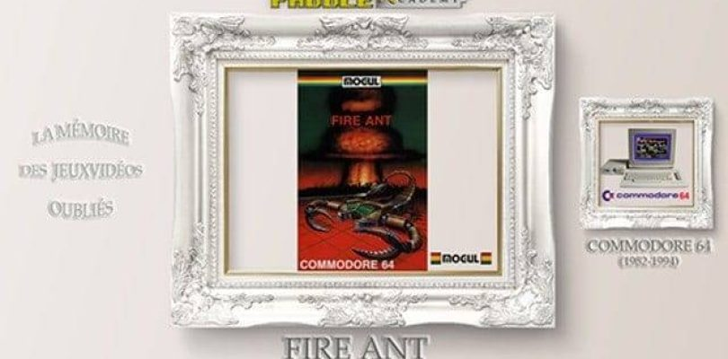 Paddle Academy : Fire Ant (C64)