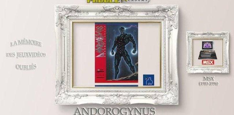 Paddle Academy : Andorogynus (MSX 2)