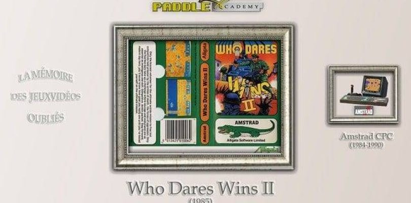 Paddle Academy : Who Dares Wins II (Amstrad CPC)
