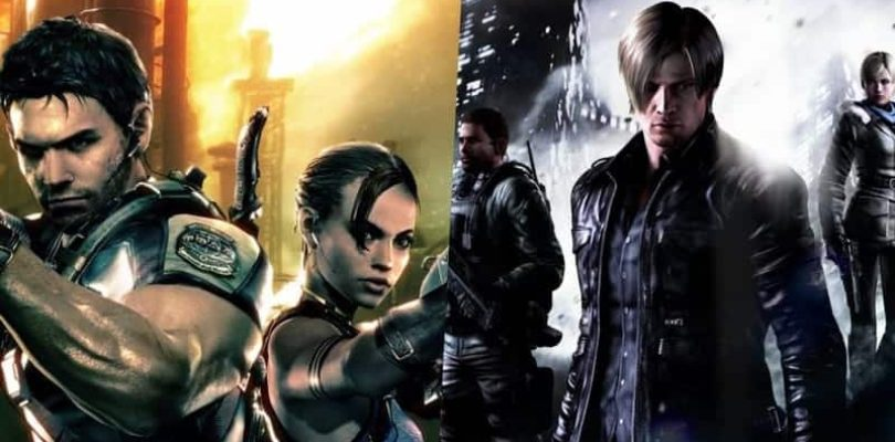 La Saga Resident Evil continue sur Switch avec le 5 et 6 !!!