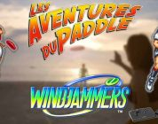 Les Aventures du Paddle : Windjammers (Neo Geo)
