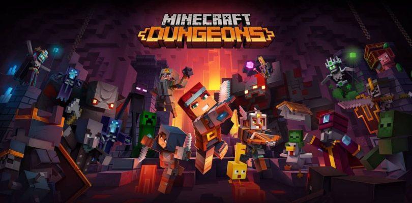NEWS : Minecraft Dungeons a été retardé pour assurer un meilleur produit final