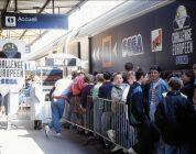 Le train Eurochallenge SEGA – MEGA Force