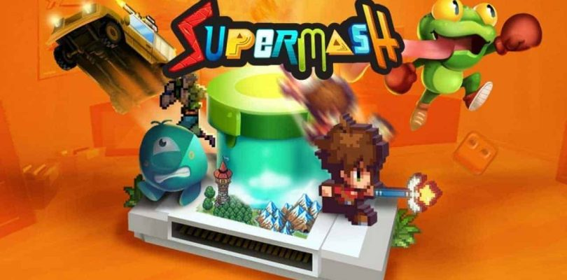 [NEWS] SuperMash déboule le 8 mai pour Switch, PS4 et Xbox One