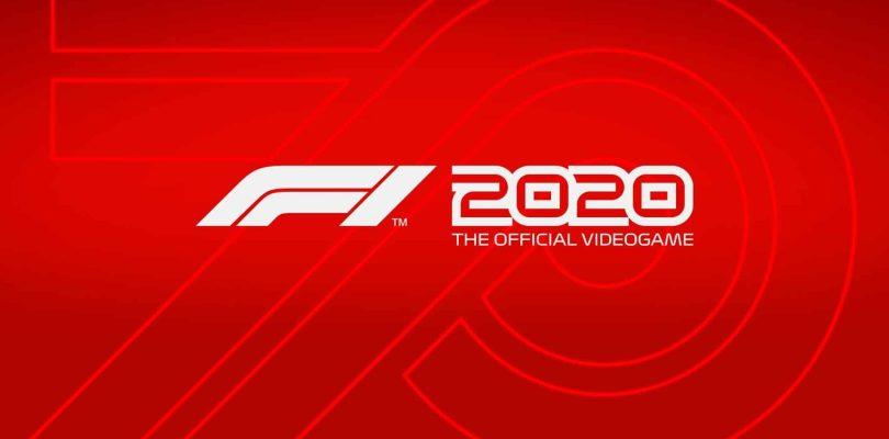 NEWS : F1 2020 démarre le 10 juillet sur PS4, Xbox One et PC