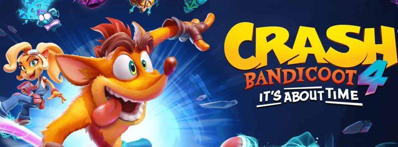 Crash Bandicoot 4 proposera plus de 100 niveaux et des achats intégrés