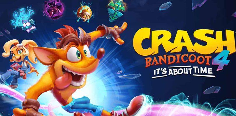 Charts France : Crash Bandicoot 4: It's About Time fait ses débuts en tête