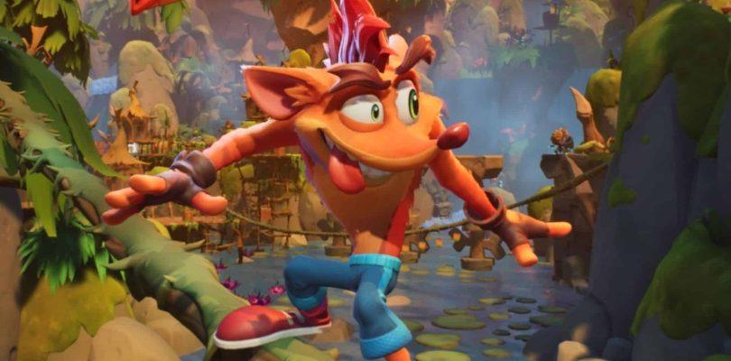 Crash Bandicoot 4: It's About Time fait ses débuts en 5e position sur les charts japonais