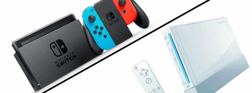 Comparaison des ventes Switch vs Wii en Europe