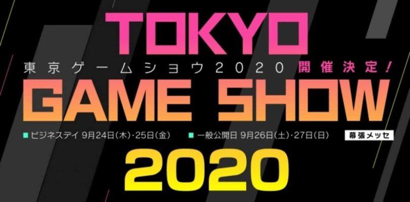Le Tokyo Game Show 2020 Online commence le 23 septembre