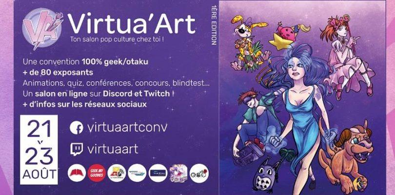 INTERVIEW avec Léa, Organisatrice de la convention virtuelle : Virtua'art