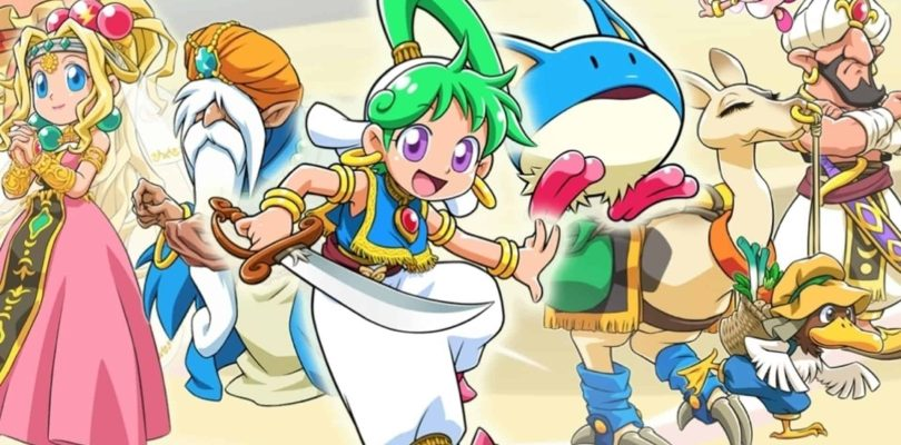 Un nouveau Wonder Boy annoncé pour Switch et PS4 !!!!