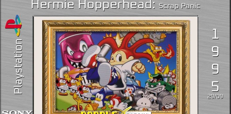 Paddle Academy : Hermie Hopperhead : Scrap Panic (PS1)