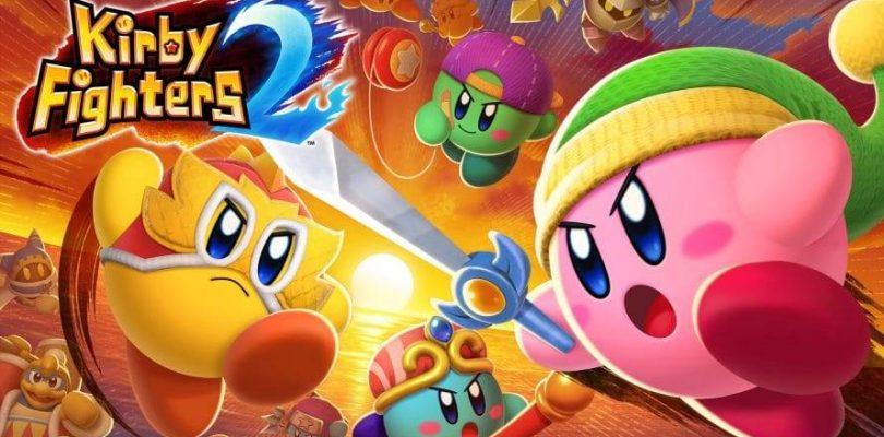 Kirby Fighters 2 est maintenant disponible pour Switch