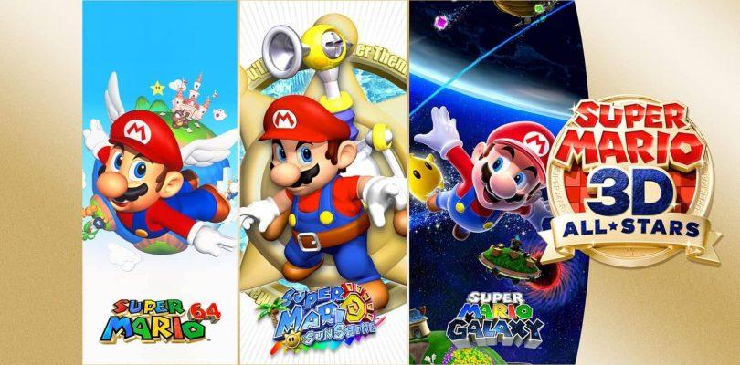 Nouveau trailer de Super Mario 3D All Stars