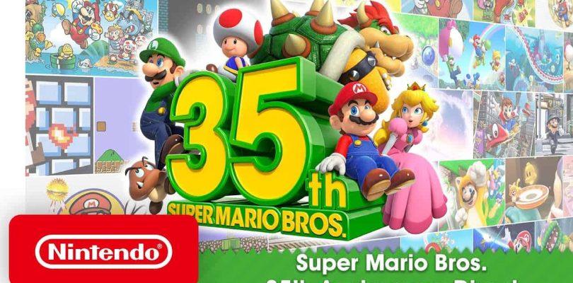 """Toutes les dernières news du """"Nintendo Mario 35"""""""