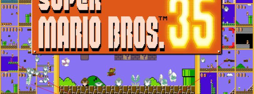 Super Mario Bros.35 est maintenant disponible pour Switch