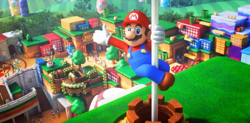 Nintendo annonce un live pour le Super Nintendo World