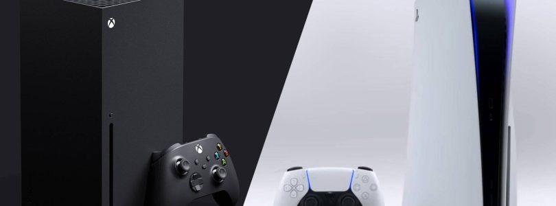 Comparaison de la taille de la Xbox Series X et de la PS5 en photos
