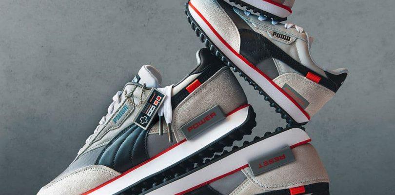 La collection de chaussures Super Mario All-Stars Puma est lancée dans 10 jours