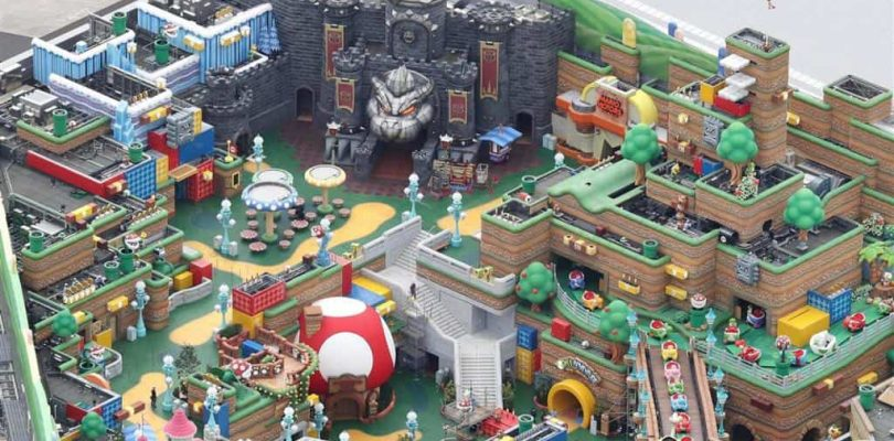 Ouverture du Super Nintendo World à Universal Studios Japan le 4 février 2021