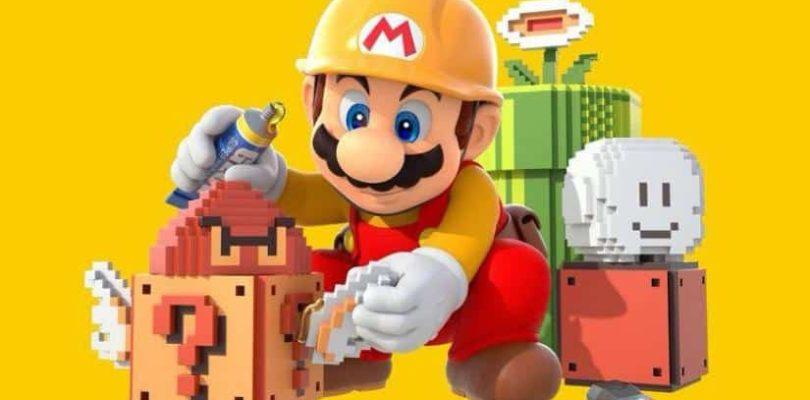Arrêt des services en ligne de Super Mario Maker pour Wii U le 31 mars 2021