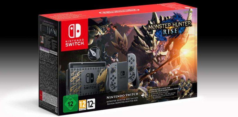 [ACTU] Une Switch Edition Limitée Monster Hunter Rise et Contrôleur Pro annoncée