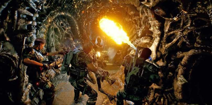 Découvrez 25 Minutes de gameplay d'Aliens: Fireteam