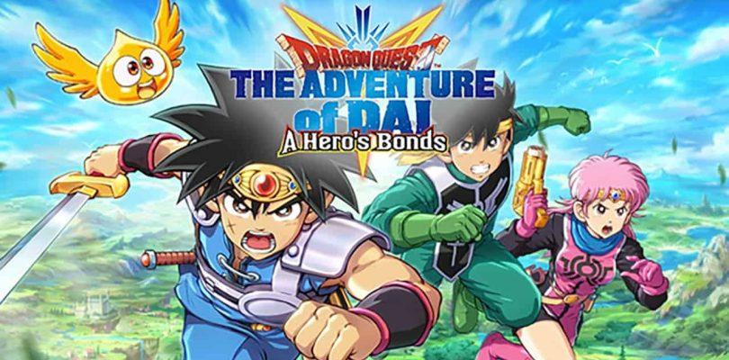 Square Enix annonce Dragon Quest The Adventure of Dai: A Hero's Bonds