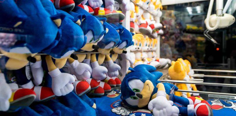 SEGA & TOMY s'associent pour les peluches Sonic The Hedgehog