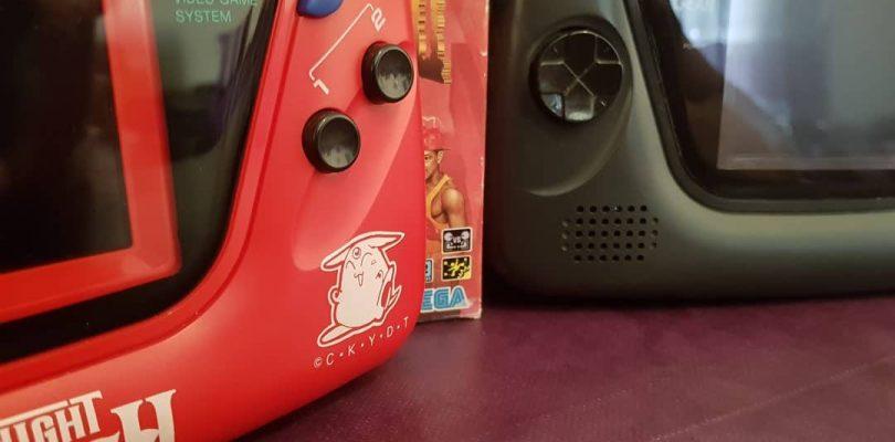 """Un """"Sega Fan"""" conçoit et fabrique des Game Gear personnalisées"""