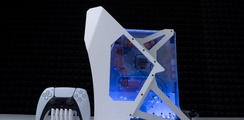 Un Modder crée une PS5 refroidie à l'eau