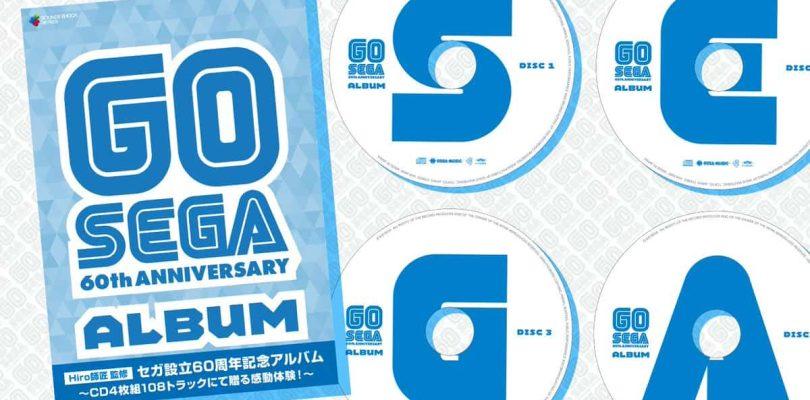 CD compilation SEGA spécial 60 ans en précommande !!