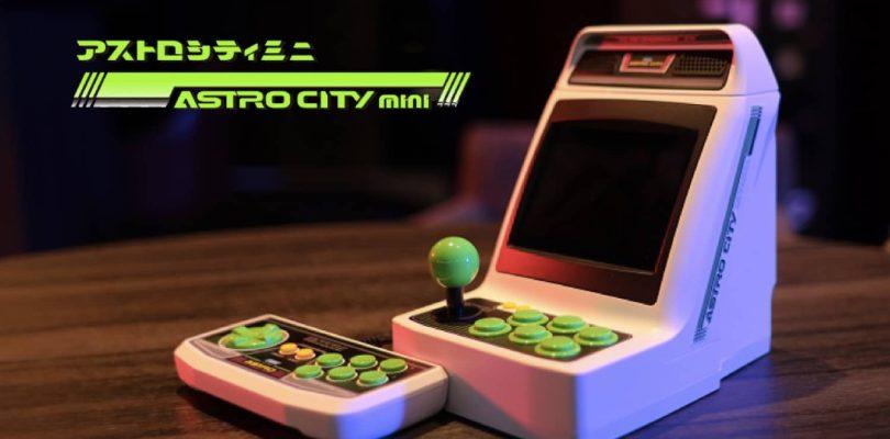 SEGA Astro City Mini en précommande en France