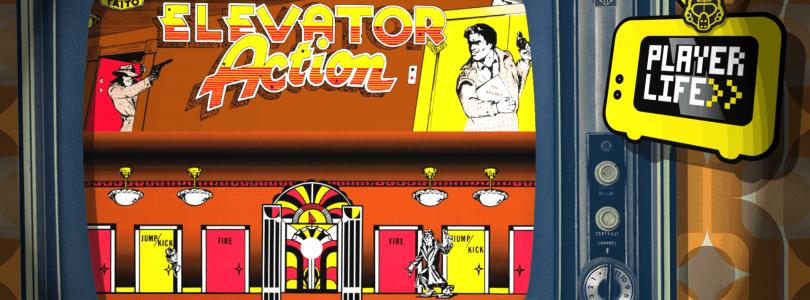 "Elevator Action (Arcade) Ft. Zanar de ""Palabarbe !"" - 01 Player Life"