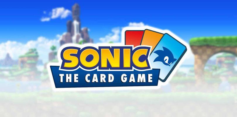 Le jeu de cartes Sonic the Hedgehog obtient une date de sortie