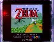 Un fan de Zelda crée Breath of the Wild 'Demake' pour Game Boy Color