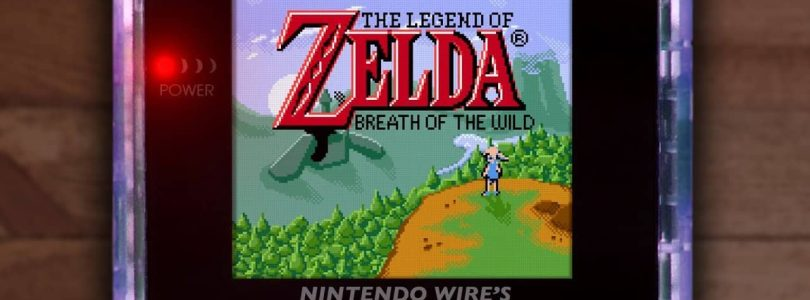 Un fan de Zelda crée Breath of the Wild 'Demake' pour Game Boy Color