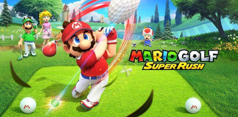 Mario Golf: Super Rush obtient une bande-annonce