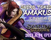 Shiro Tokisada Amakusa rejoint dans Samurai Shodown en tant que DLC