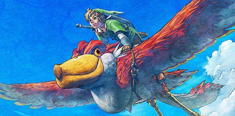 CHARTS FRANCE : The Legend of Zelda : Skyward Sword HD en tête