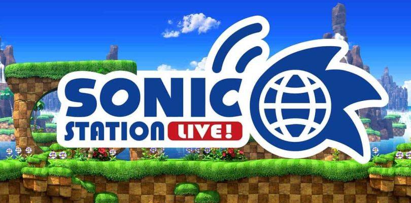 Un Sonic Station LIVE sera diffusé à partir de 13h00 le jeudi 24 juin