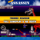 Trained Assassin (Amiga) - Full Gameplay + No Death - 18 Lord Paddle Gameplay 100%