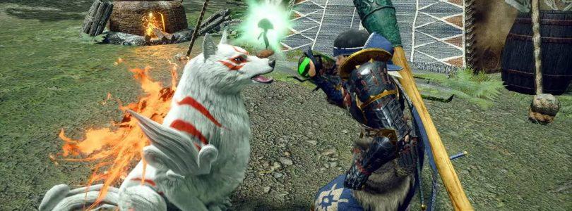 Monster Hunter Rise x Okami : La collaboration commence le 30 juillet