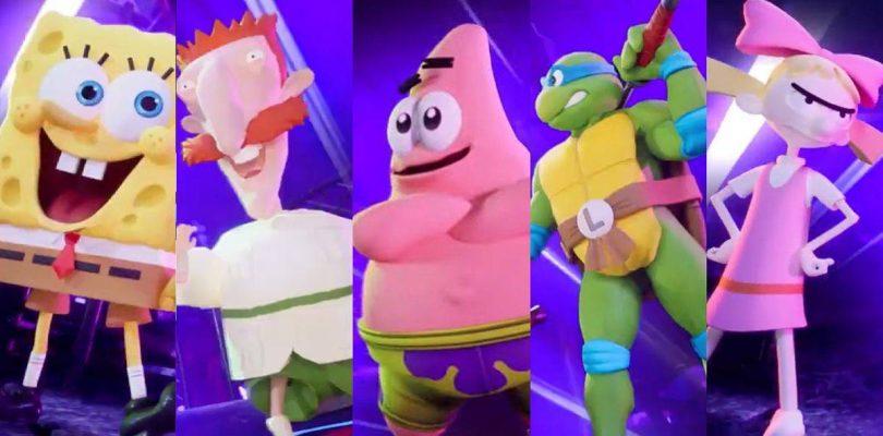 Nickelodeon All-Star Brawl annoncé sur consoles